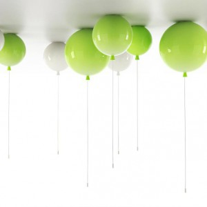 Niezwykłe lampy-baloniki Memory to projekt designera Borisa Klimka. Fot. Boris Klimek.