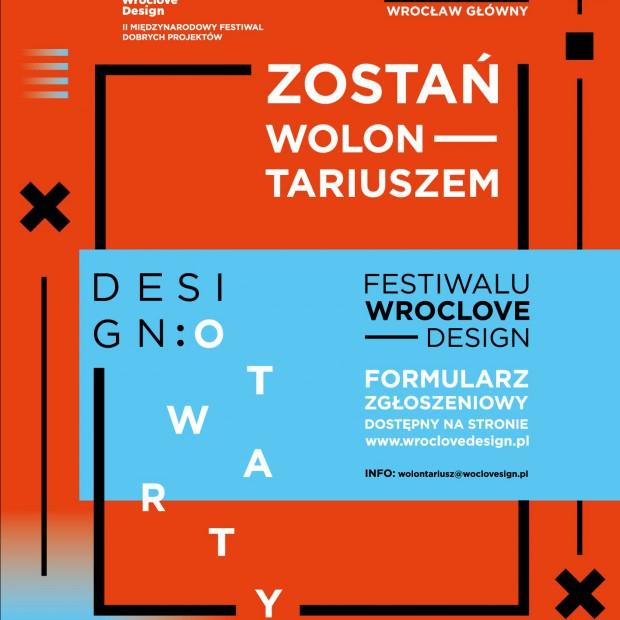 Festiwal Dobrych Projektów Wroclove Design - zostań wolontariuszem