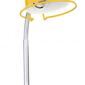 Żółta lampka wprowadzi do gabinetu wiosenny nastrój. Fot. Isme.