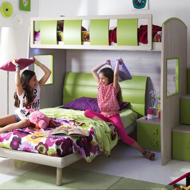 Piętrowe łóżko - zobacz najlepsze pomysły