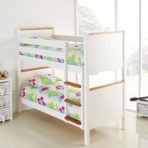 Rozwiązanie dla chłopca i dziewczynki. Fot. Bensons for Beds.