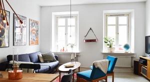 Mieszkanie w starej kamienicy z 1903 roku znajduje się w historycznym centrum Goteborga. Typowy skandynawski wystrój wnętrza łączy się tu w piękny duet ze szlachetnym stylem vintage.