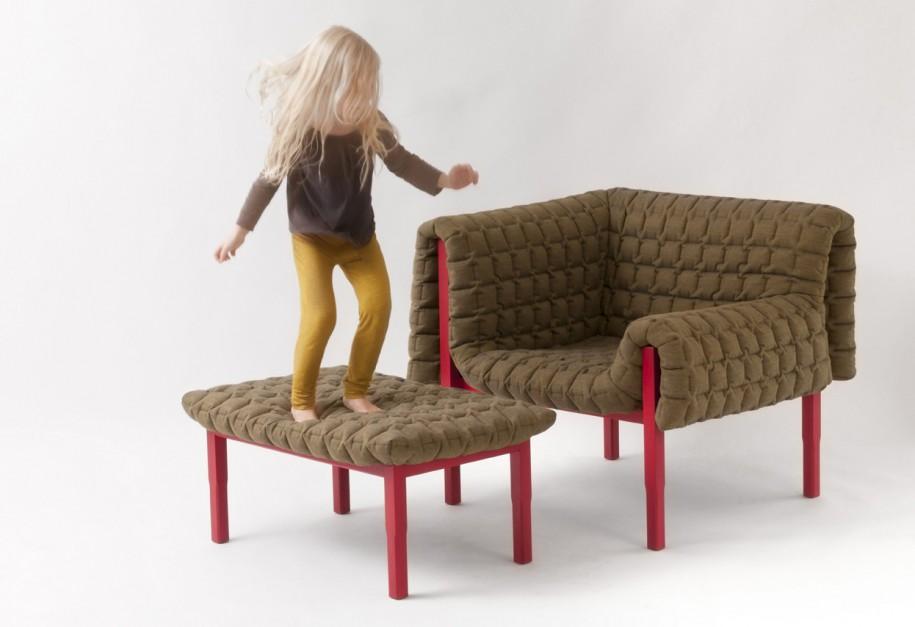 Fotel Ruche zaprojektowany przez Inge Sempe. Fot. Ligne Roset.