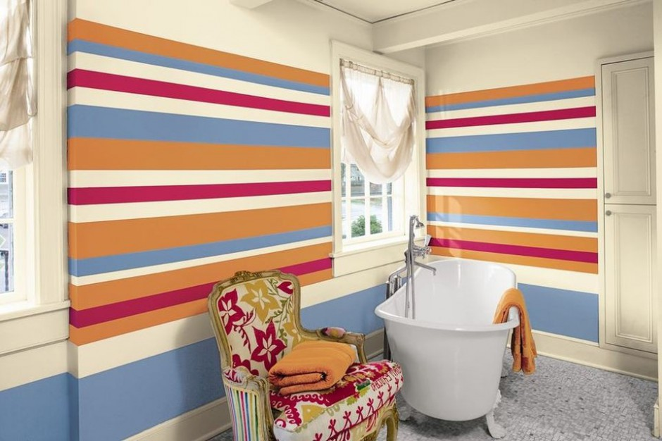 Benjamin Moore Aura B&S Bathroom.