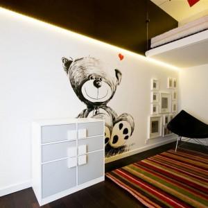Nowoczesno - minimalistyczny pokój dziecka