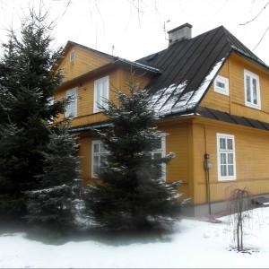 Dom drewniany w Zamościu. Fot. Przewodnikzamosc