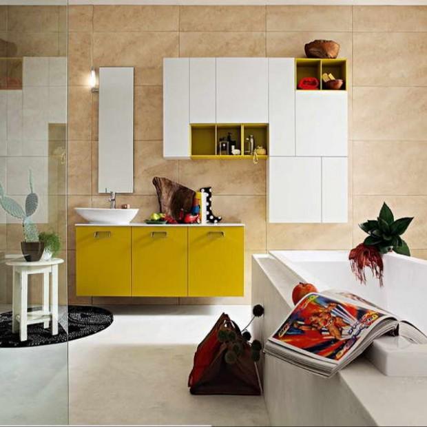Żółty w łazience. Propozycje na Święta i nie tylko!