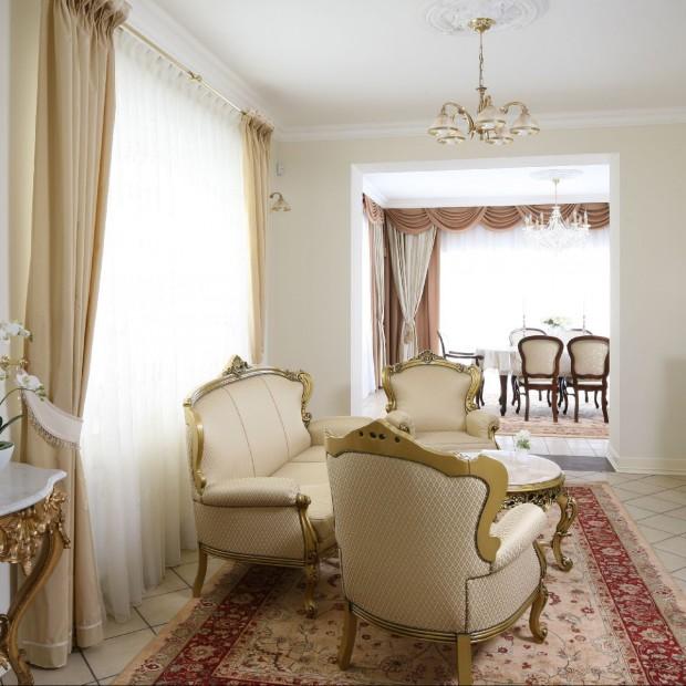 Pałacowy styl: dla miłośników luksusu