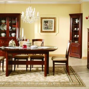 Stół S4601 dopasowany do kolekcji Firenze. Szerokość: 1.600/2.340 mm, wysokość: 766 mm, głębokość: 1.000 mm. 2.299 zł, Bydgoskie Meble.