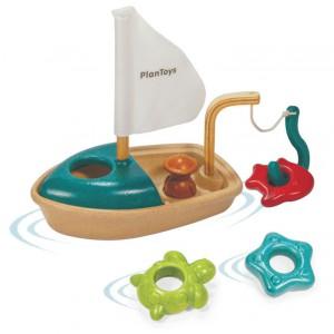 Nadają się do zabawy w wodzie. Fot. Plan Toys.