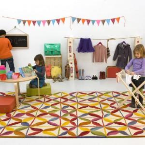 Kolorowe dywany, które zmienią wygląd podłogi w pokoju dziecka