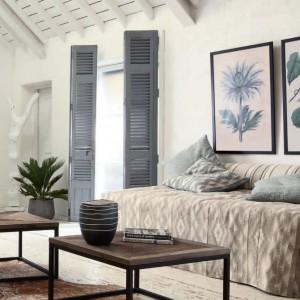 Jasne ściany stanowią doskonałe tło dla wzorów. Fot. Mark Alexander.