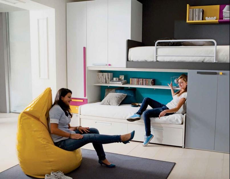 Najważniejsze jest jednak, aby młodzież lubiła swój pokój. Fot. Dielle.
