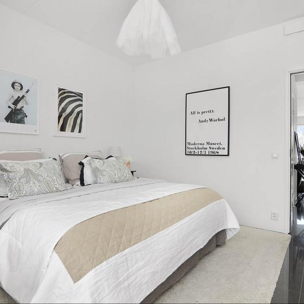Sypialnia w stylu skandynawskim: pomysły, inspiracje
