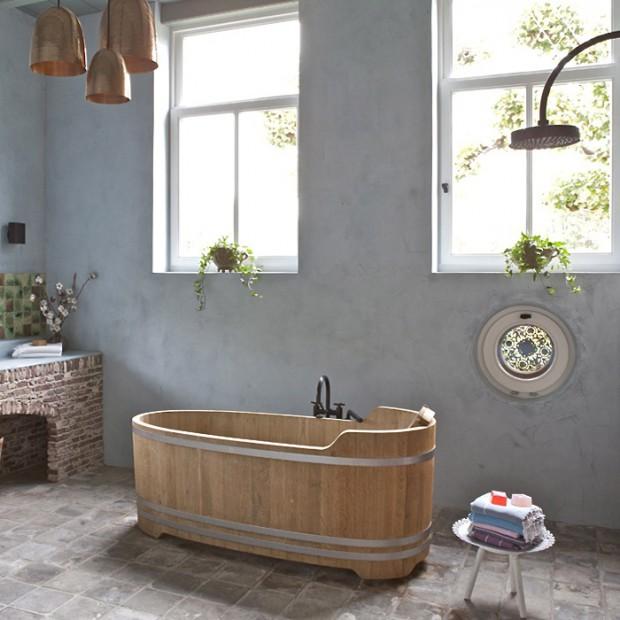 Łazienka w stylu country. 26 inspirujących aranżacji