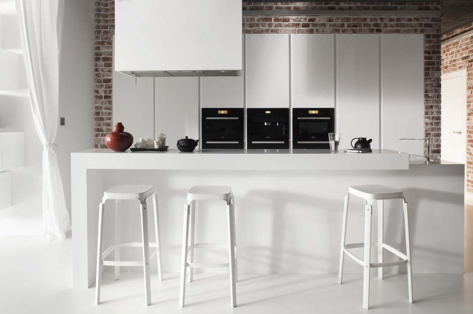Rzeźbiarski charakter Biała kuchnia elegancka i   -> Biala Kuchnia Elegancka