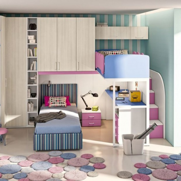 Jasny pokój dla dziewczynki - pomysły