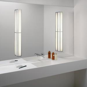 System do montowania oświetlenia na lustrze.