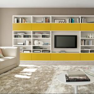 Żółty kolor uatrakcyjnia prostą formę. Fot. Colombini Casa.