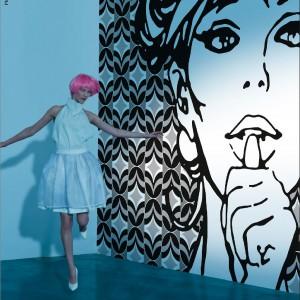 Wyjątkowe tapety marki Wall&Deco - na zdjęciu kolekcja Girls on Film. Fot. Wall&Deco/Square Space.