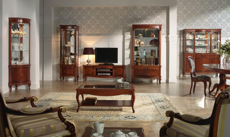 Fot panamar salon w stylu klasycznym wiecznie modny - Fabricas de muebles en yecla ...