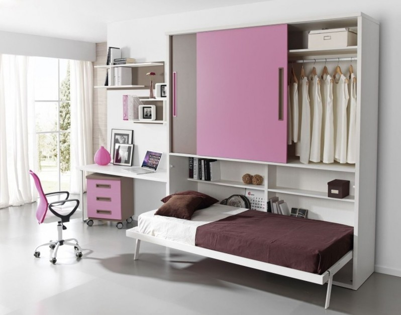 Fot muebles lara szafa mebel do pokoju malucha i for Dormitorios juveniles abatibles