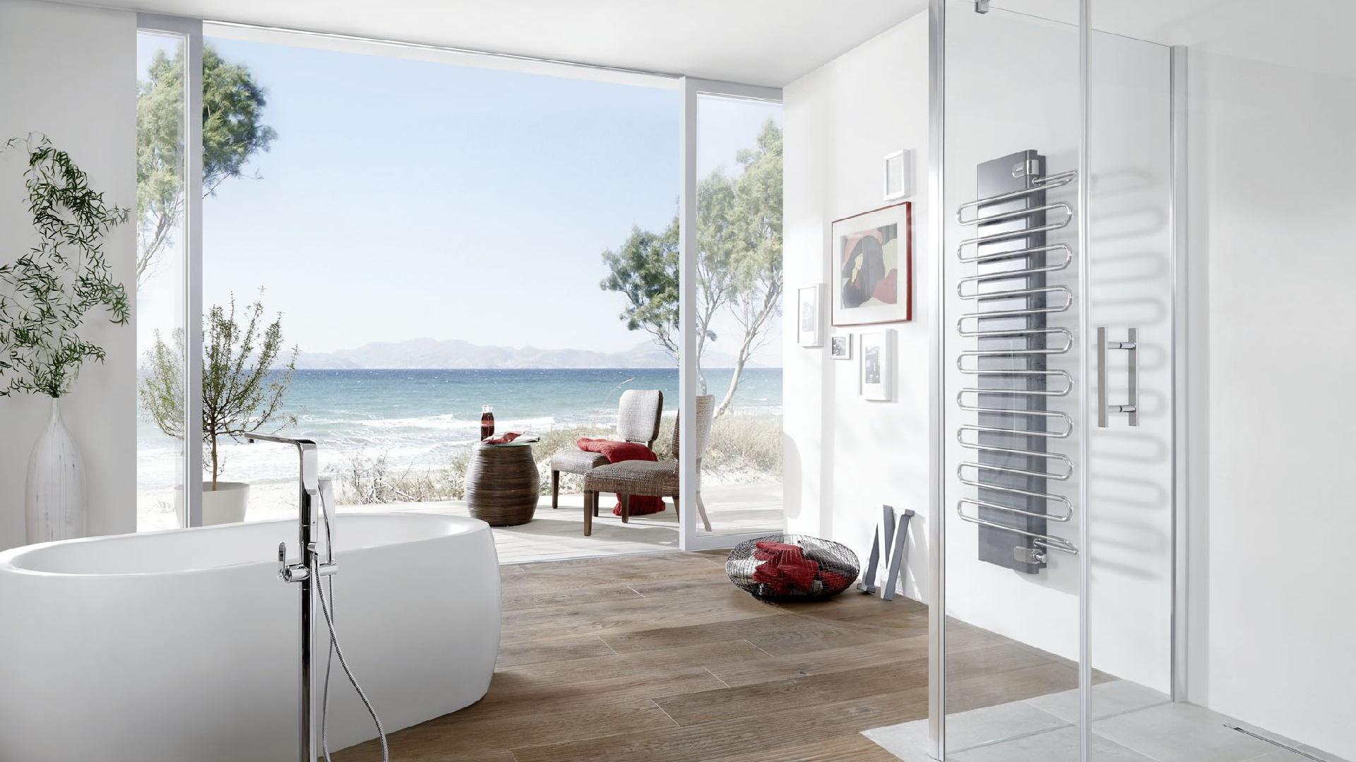 Odwodnienie prysznicowe Advantix Vario z rusztem ze stali nierdzewnej (komplet), fot. Viega.