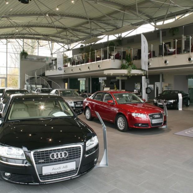 Marka zobowiązuje. Salon Audi