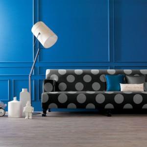 Sofa Luigi w kropy. Fot. Creazioni.