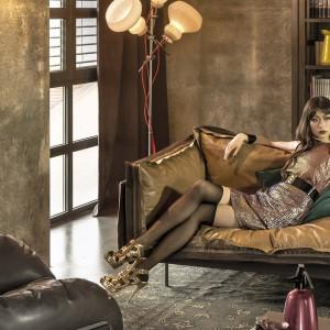 Skórzana sofa jest propozycją marki Arketipo. Fot. Arketipo.