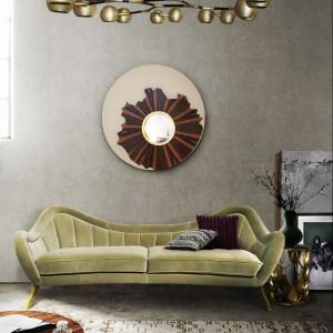 Stylowa sofka to awangardowa propozycja marki Brabbu. Fot. Brabbu.