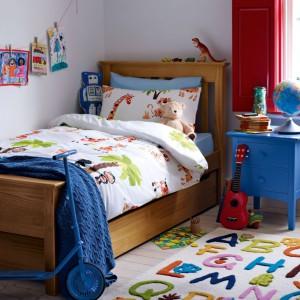 Pościel w zwierzęta pasuje do pokoju dziewczynki i chłopca. Fot. Marks&Spencer.