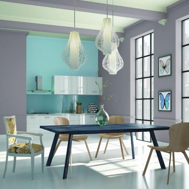 Pomaluj dom na pastelowo: 12 modnych kolorów na ściany