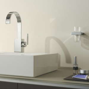 Projekt słynnego Sieger Design dla firmy Dornbracht - MEM. Elegancja doskonałych proporcji. Fot. Dornbracht.