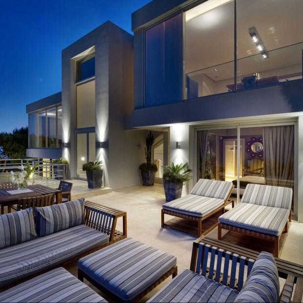 Oświetlenie ogrodu, tarasu i balkonu