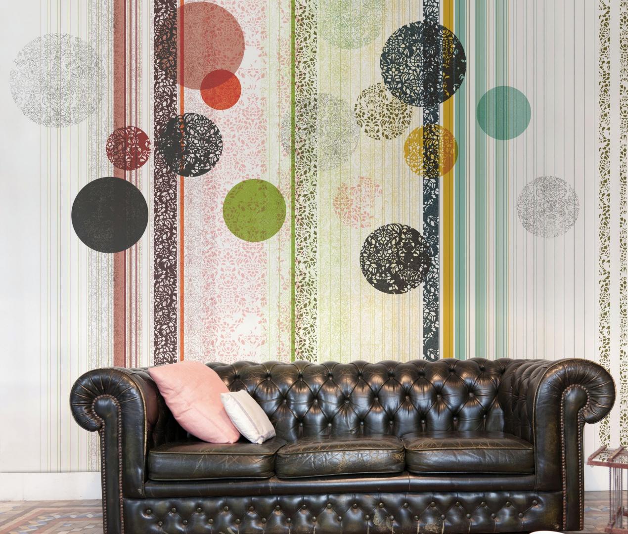 Nowoczesne tapety do salonu modne kolory ciekawe wzory - Catalogos de papel pintado para paredes ...