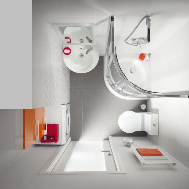 Ceramika sanitarna do małej łazienki