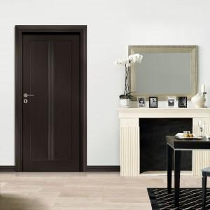 Drzwi z kolekcji Classic w aranżacji do jadalni, fot. Drzwi Vox.