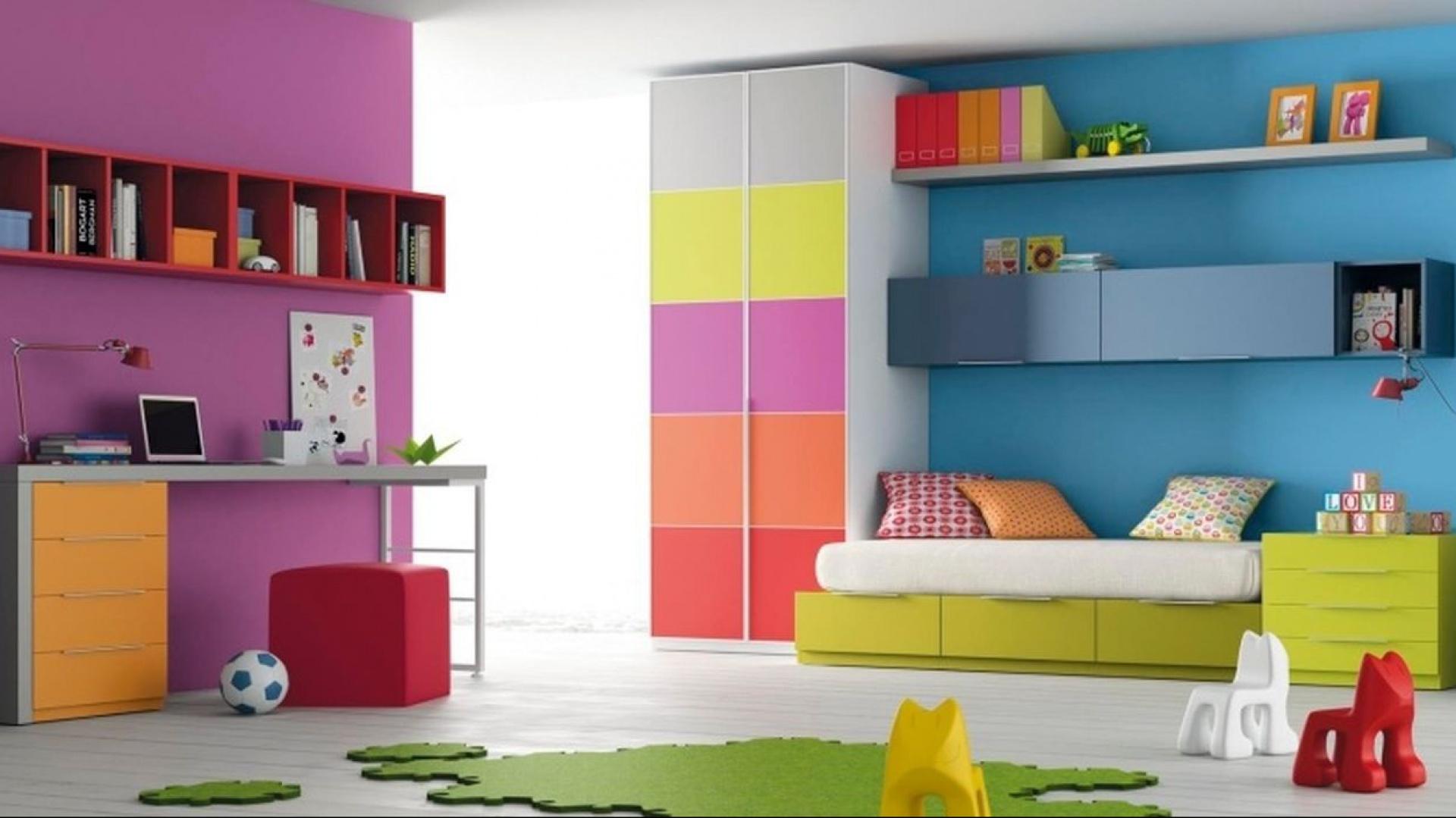 Intensywne kolory jak t cza czyli wielokolorowy for Los mejores dormitorios juveniles