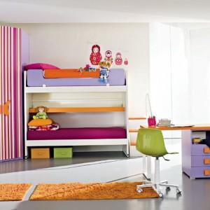 Pokój urządzony dla dwóch sióstr. Fot. ZG Group.