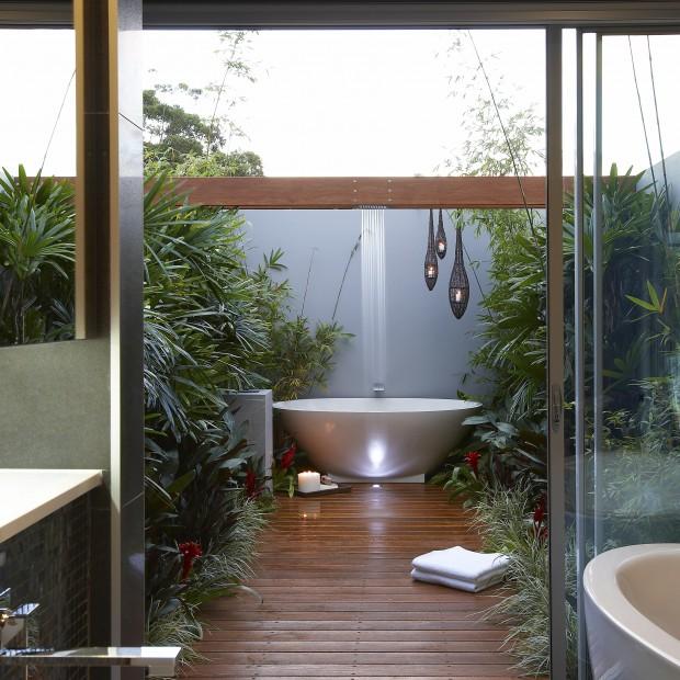 Łazienka inspirowana naturą: najpiękniejsze aranżacje