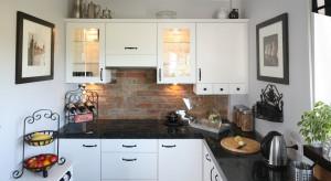 Oryginalna, nietuzinkowa, ciekawa. Cegła to rewelacyjny pomysł na wykończenie ściany. W kuchni czy w jadalni – zawsze wygląda pięknie.
