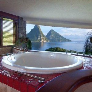Jade Mountain Hotel, St. Lucia
