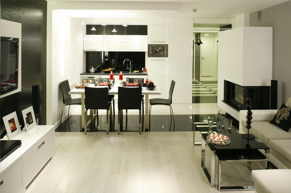 Kuchnia jest częścią Mała kuchnia Zobaczcie   -> Mala Kuchnia Loft