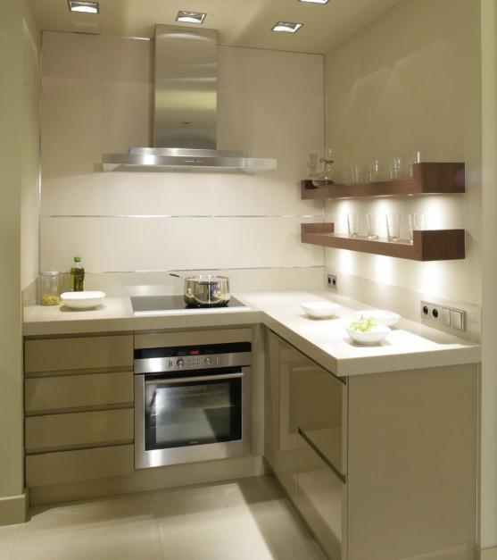 Zabudowę w kolorze Mała kuchnia Zobaczcie   -> Kuchnia W Kolorze Kapuczino