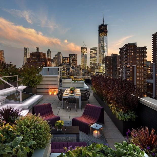 Ogród na dachu. Światowy trend w architekturze