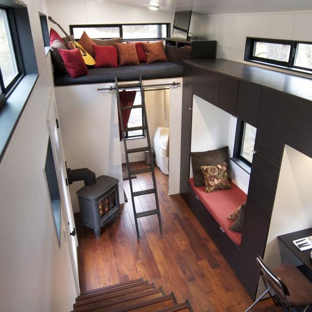 Mieszkanie w wersji mini: zaskakująco wygodny pomysł