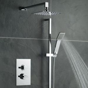Baterie prysznicowe z termostatem. Modne i nowoczesne pomysły do łazienki