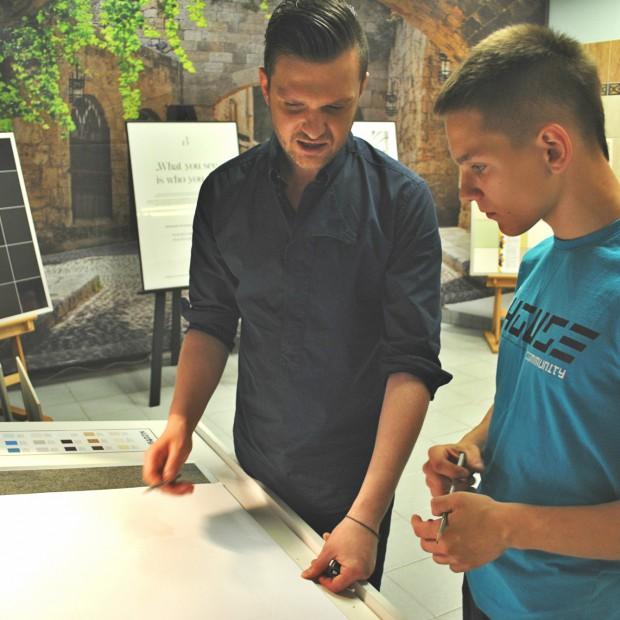 Maciej Zień, projektowanie i... kuchnia molekularna