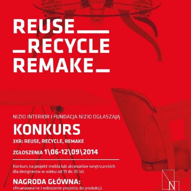 Startuje konkurs 3xR: reuse, recycle, remake skierowany do projektantów mebli i akcesoriów wnętrzarskich
